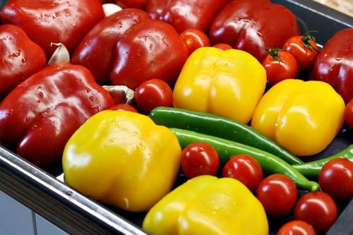 Zelenina na plechu