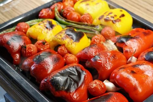 Ugrilovaná zelenina