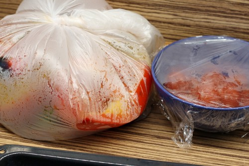 Zapaření zeleniny