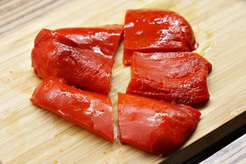 Oloupaná paprika