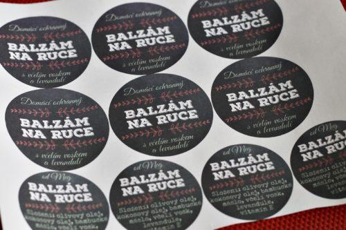 Vytištěné etikety