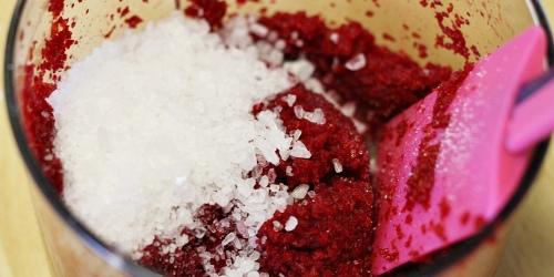 Cukr a sůl do řepné směsi