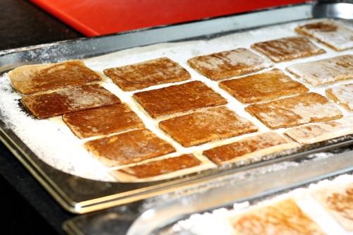 Upečené karamelové sušenky