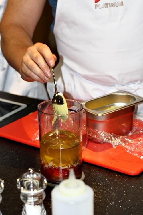 Zálivka na salátovou směs