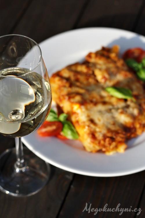 Boloňské lasagne s těstovinami Adriana