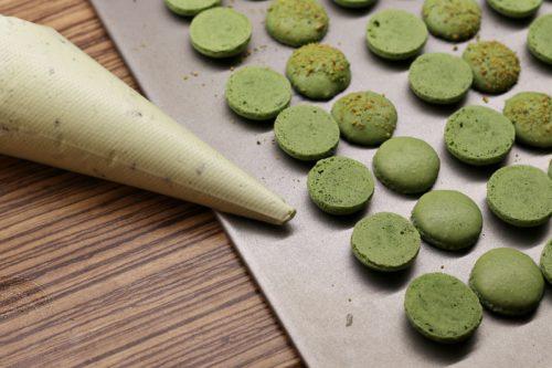Příprava plnění macarons