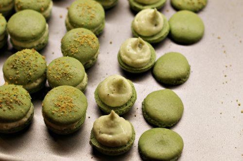 Plnění macarons