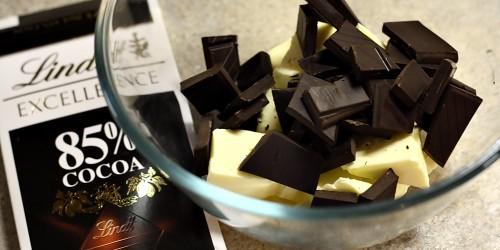 Příprava čokolády a másla