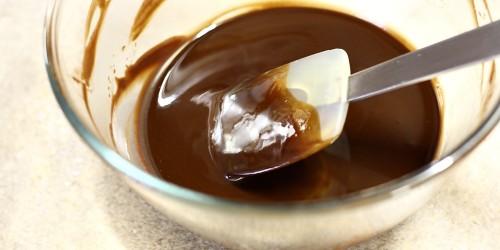 Rozehřátá čokoláda s máslem