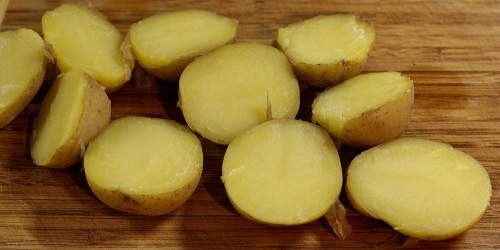 Uvařené brambory