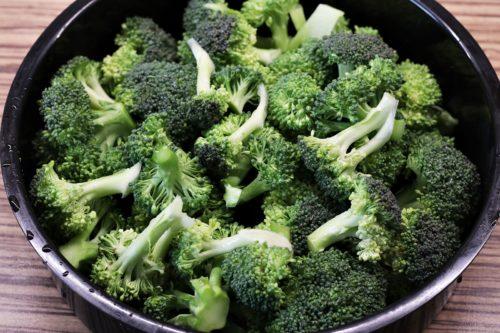 Brokolice před vařením