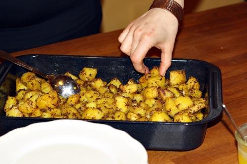 Kořeněné brambory