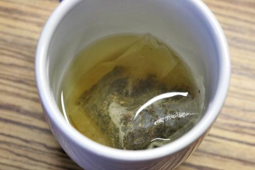 Louhování zeleného čaje