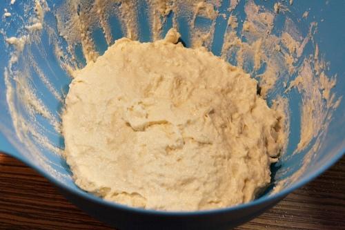 Těsto na chléb před kynutím