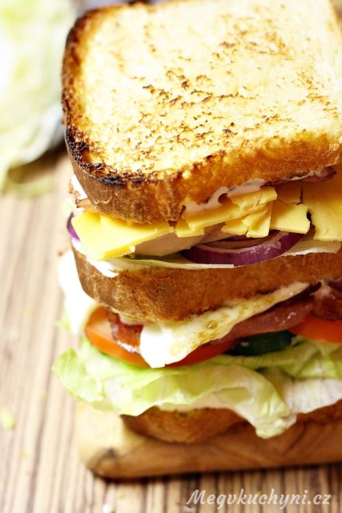 Sestavený club sandwich