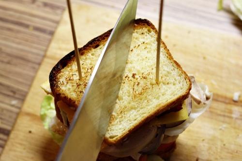 Rozříznutí sandwiche