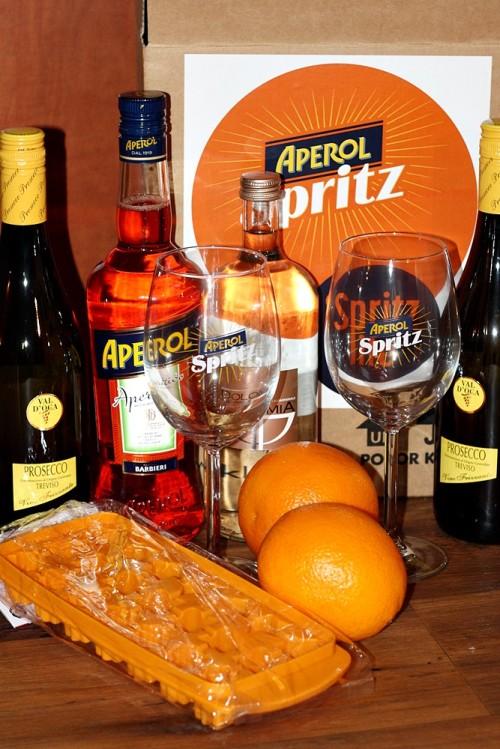 Balíček k přípravě nápoje Spritz