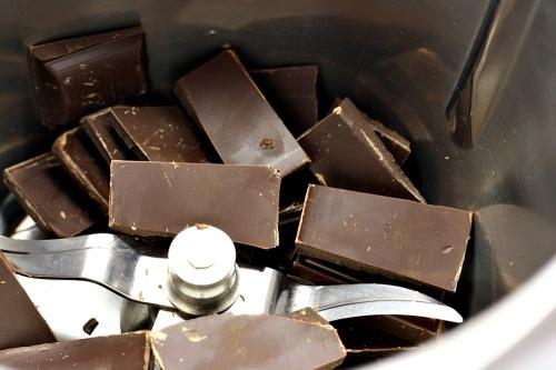 Čokoláda před strouháním
