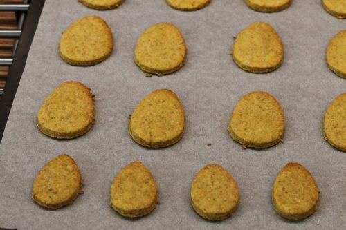 Upečené mrkvové sušenky