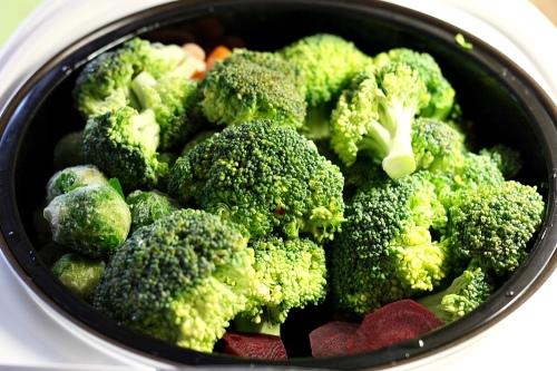 Zelenina do páry