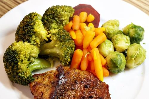 Zelenina v páře