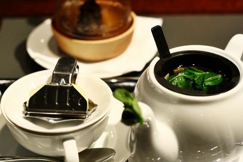 Mátový čaj s medem