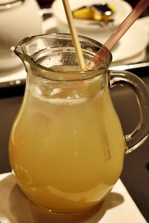 Domácí zázovorová limonáda