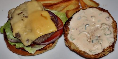 Skládání hamburgeru