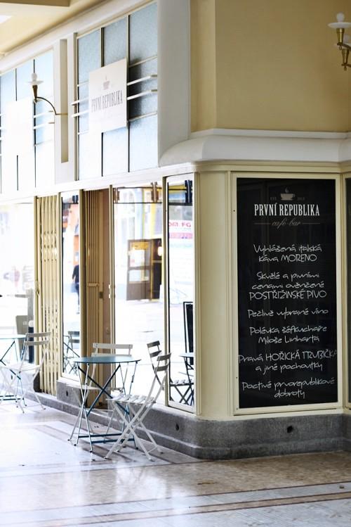 Kavárna První republika