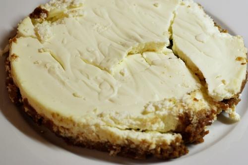 Cheesecake co nešel z formy