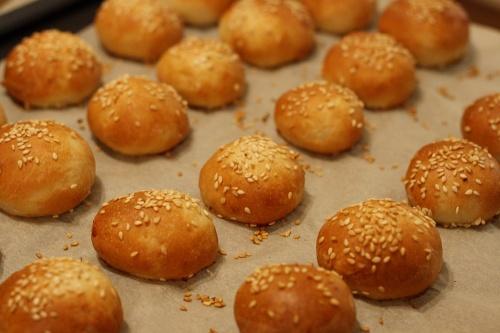 Mini hamburgerové housky