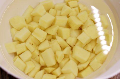 Nakrájené brambory