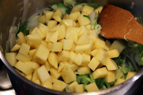 Přidání brambor