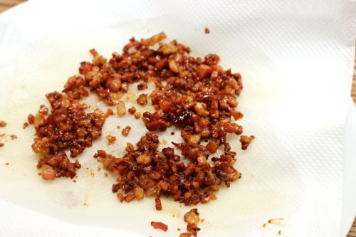 Osušení slaniny