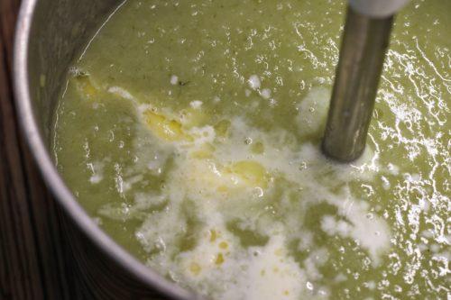 Umixování polévky