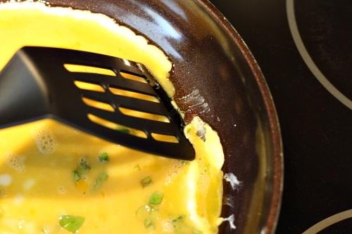 Příprava omelety