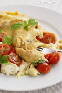 Omeleta Caprese