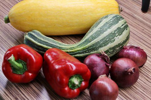 Zelenina na čalamádu