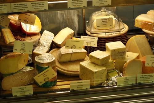 Výběr sýrů