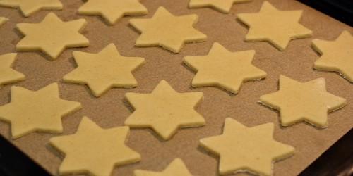 Vykrájené hvězdičky