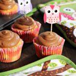 Rychlé podzimní cupcaky s čokoládovo-tvarohovým krémem