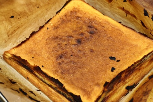 Upečený baumkuchen