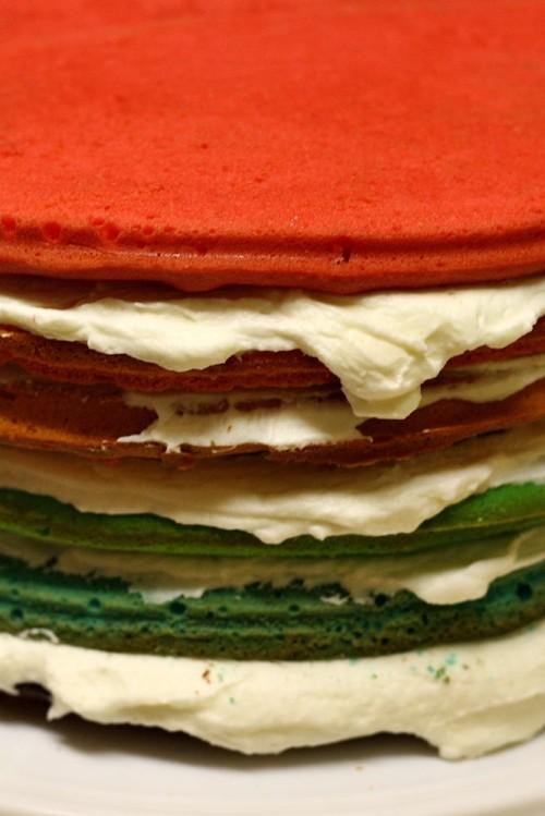 Všechny vrstvy dortu