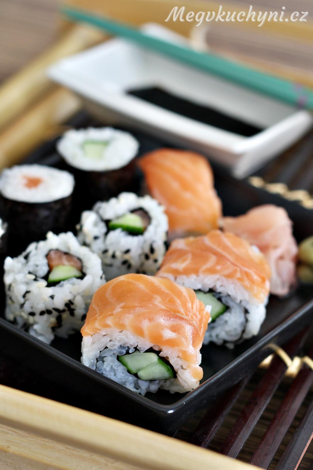 Domácí sushi krok za krokem