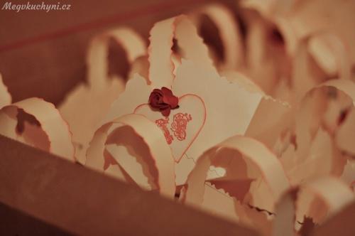 Košíčky na svatební koláčky