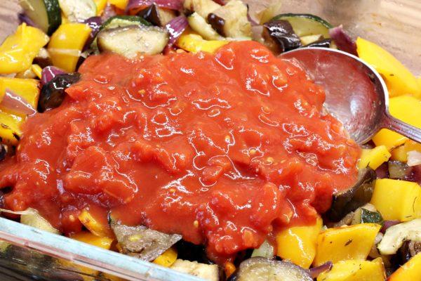 Zelenina s rajčaty