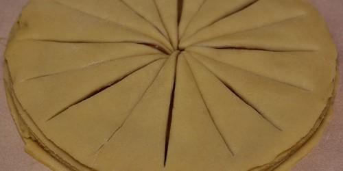 Rozkrojení chlebíčku