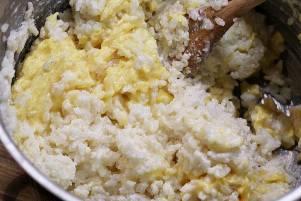 Rýže s máslovou směsí