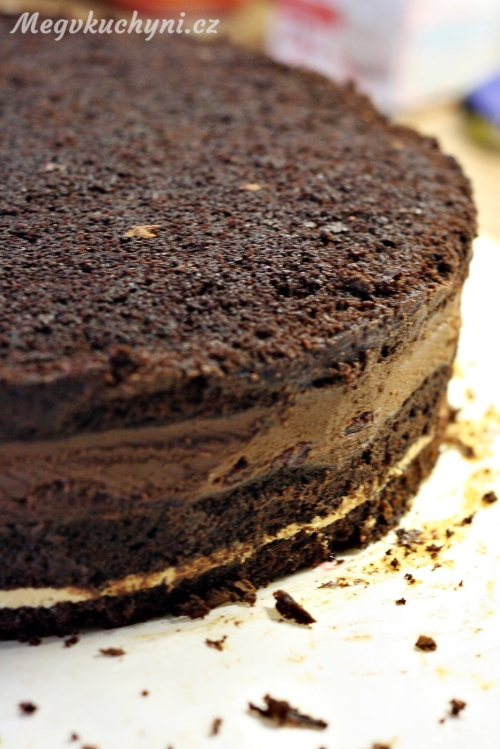 Ořezaný mud cake