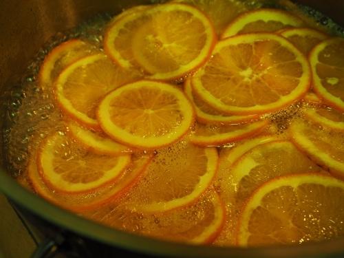 Kandování pomeranče